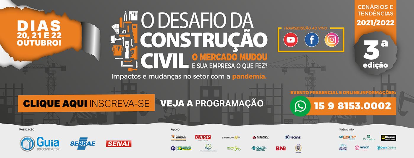 Desafio da Construção Civil - 3a edição