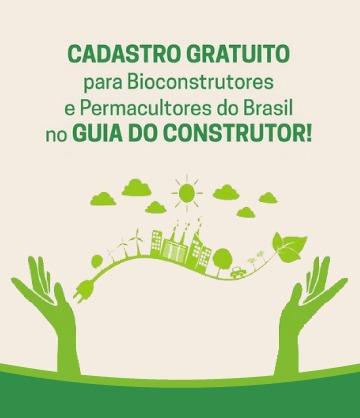 Cadastro gratuito para Bioconstrutores e Permacultores