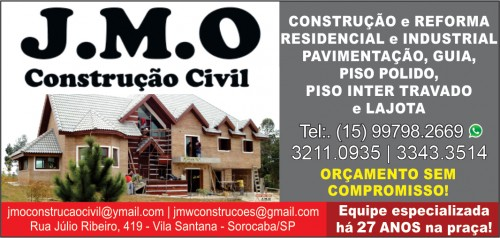 JMO Construção Civil