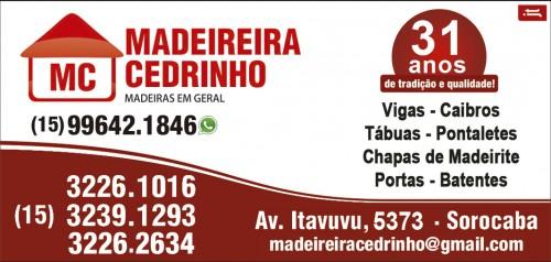 Madeireira MC Cedrinho